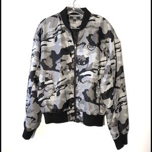 Unisex Young & Reckless Black/Grey Camo Jacket